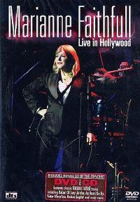 Cover Marianne Faithfull - Live In Hollywood [DVD]